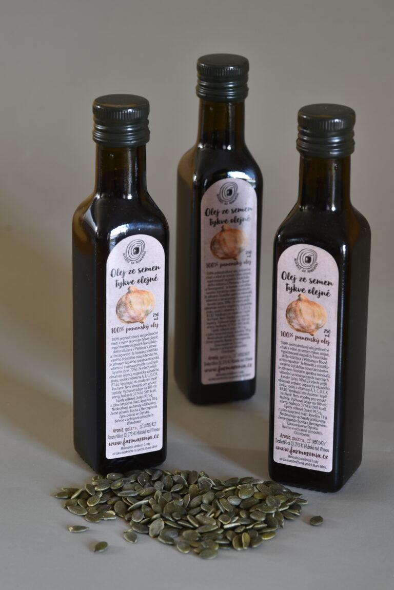 Dýňový olej 250ml